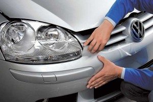 Установка защитной пленки на автомобиль