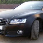 Преимущества оклейки автомобиля матовой пленкой